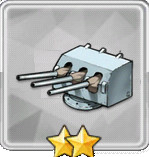 102mm三連装砲(副砲)T1