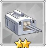 152mm連装砲T2