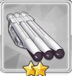 533mm三連装魚雷T2
