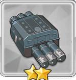 610mm三連装魚雷T1