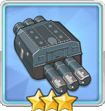 610mm三連装魚雷T2