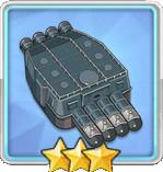 610mm四連装魚雷T1