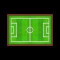 サッカーグラウンドのラグ