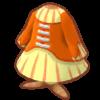 オレンジのコルセット