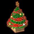 リボンのクリスマスツリー