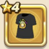 確定Tシャツ・黒
