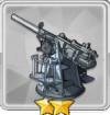 102mm単装砲(副砲)T2