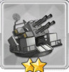 QF 2ポンド四連装ポンポン砲T1