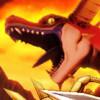 炎の山、巣食う竜たち