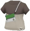 ガラルカモネギサコッシュ付きTシャツ