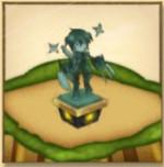 シャナオウの像