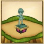 クラピカの像