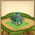巫覡の家とウルドの飛行艇