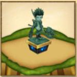 ゲオルグの像(茶熊)