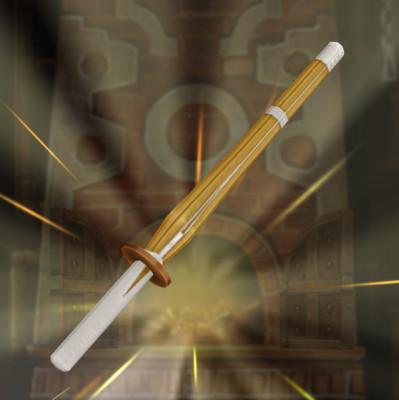 剣道部の竹刀