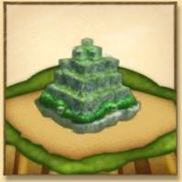 古代遺跡のミニチュア