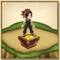 麻倉葉の像